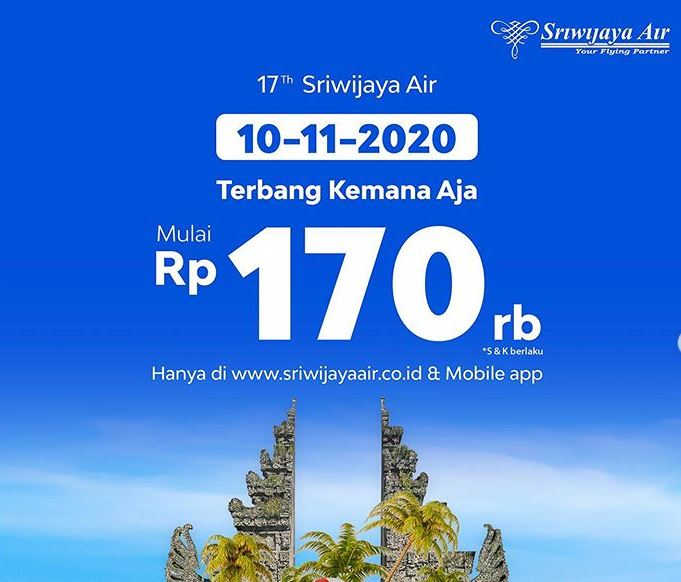 Server Sriwijaya Air Down Saat mengadakan Diskon Tiket 170 Ribu-an smartpower