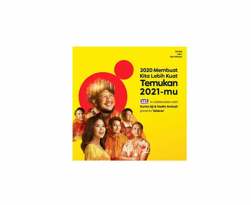 IM3 Ooredoo Gandeng Kunto Aji & Nadin Amizah Rilis Lagu Baru Bagkitkan Optimisme
