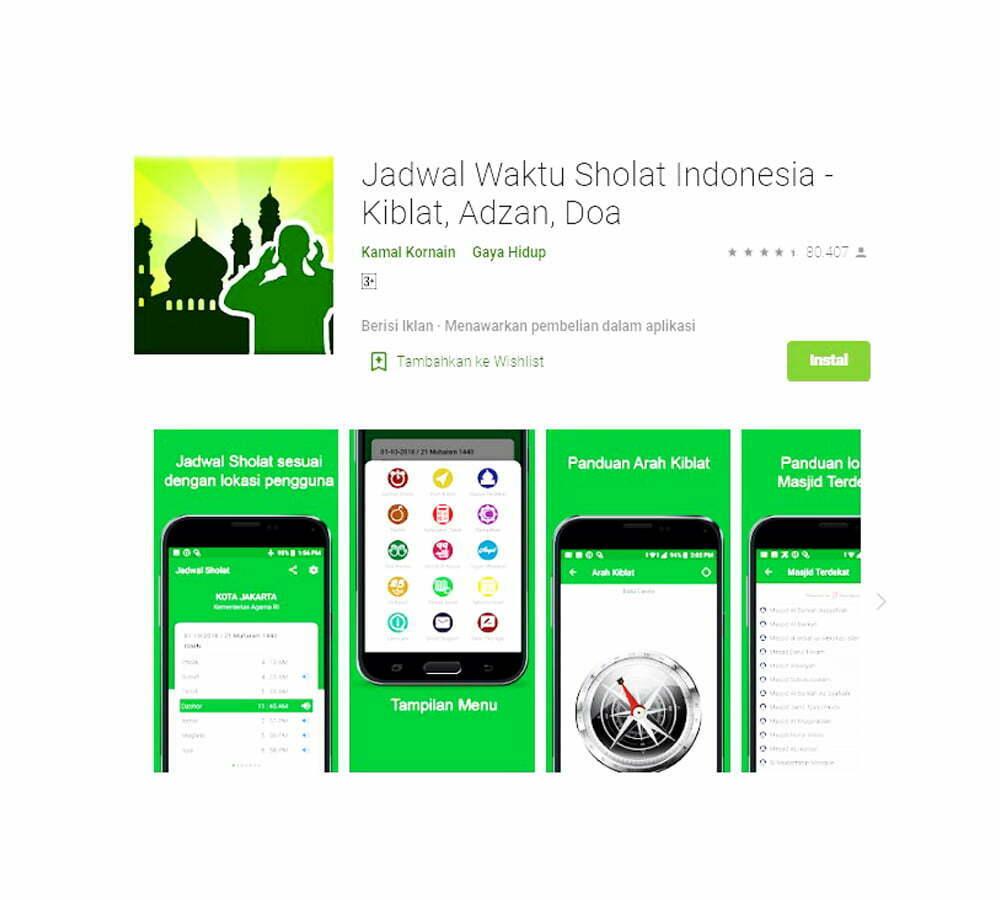 Aplikasi Rekomendasi Jadwal Imsakiyah Untuk Ramadan 2021 ...
